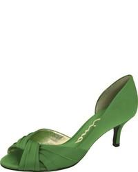 Zapatos de tacón verdes de Nina