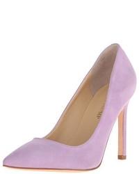 Zapatos de tacón violeta claro de Ivanka Trump