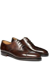 Zapatos de vestir en marron oscuro original 11345384