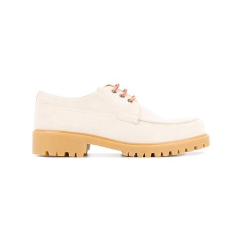 4a7eda4a Zapatos derby de ante en beige de Cerruti 1881, MEX$8,449 | farfetch ...
