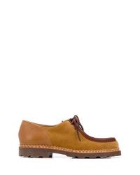 Zapatos derby de ante en tabaco de YMC