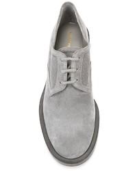 Zapatos derby de ante grises de Nicholas Kirkwood