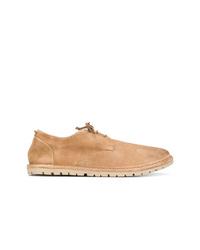 Zapatos derby de ante marrón claro de Marsèll