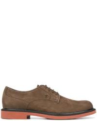 Zapatos Derby de Ante Marrónes de Tod's