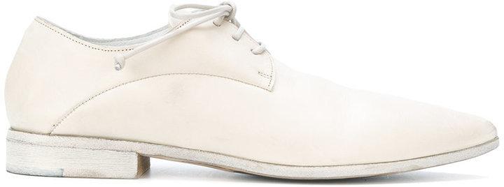 Zapatos Derby de Cuero Blancos de Marsèll