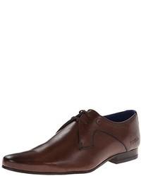 Zapatos Derby de Cuero Marrón Oscuro de Ted Baker
