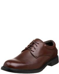 Zapatos derby de cuero marrónes de Nunn Bush