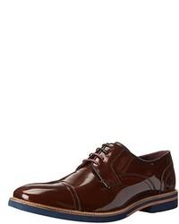 Zapatos derby de cuero marrónes de Ted Baker