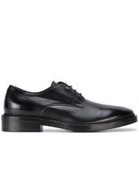 Zapatos Derby de Cuero Negros de Balenciaga