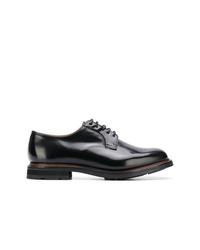 Zapatos derby de cuero negros de Church's