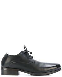 Zapatos Derby de Cuero Negros de Marsèll