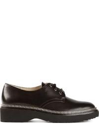 Zapatos Derby de Cuero Negros de MICHAEL Michael Kors