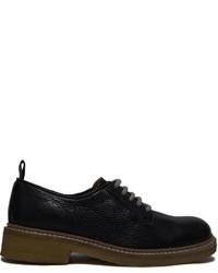 Zapatos Derby de Cuero Negros de Swear