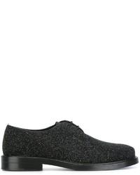 Zapatos Derby de Cuero Negros de Tod's