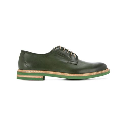 2ea83155 Zapatos derby de cuero verde oscuro de Cerruti 1881, MEX$11,706 ...