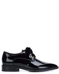 Zapatos derby negros de Lanvin