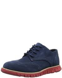 Zapatos oxford azul marino de Cole Haan
