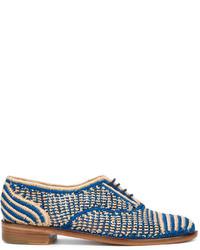 Zapatos oxford azules de Robert Clergerie