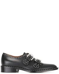 Zapatos oxford con tachuelas negros de Givenchy