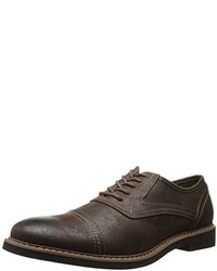 Zapatos oxford de ante en marrón oscuro de Deer Stags