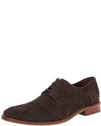 Zapatos oxford de ante en marrón oscuro de Ted Baker
