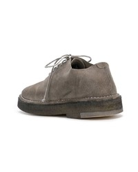 Zapatos oxford de ante grises de Marsèll