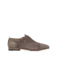 Zapatos oxford de ante grises de Officine Creative