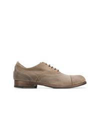Zapatos oxford de ante marrón claro de Fiorentini+Baker
