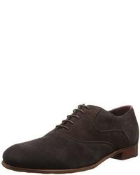 Zapatos Oxford de Ante Marrón Oscuro de Ted Baker