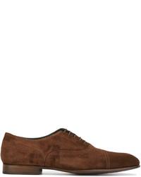 Zapatos oxford de ante marrónes de Paul Smith