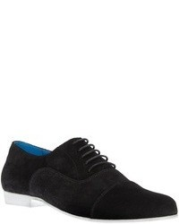 Zapatos oxford de ante negros de Swear