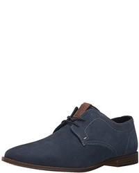 Zapatos oxford de cuero azul marino de Ben Sherman