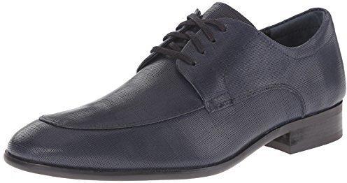 b50e5f2a260 ... Zapatos oxford de cuero azul marino de Calvin Klein ...
