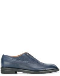 Zapatos oxford de cuero azules de Maison Margiela