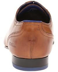 Zapatos oxford de cuero marrón claro de Ted Baker