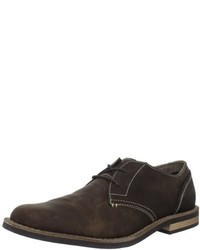 Zapatos Oxford de Cuero Marrón Oscuro de Original Penguin