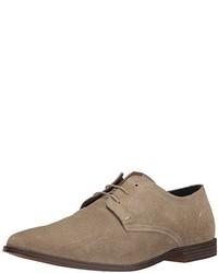 Zapatos oxford de cuero marrónes de Ben Sherman