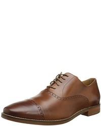 Zapatos oxford de cuero marrónes de Cole Haan