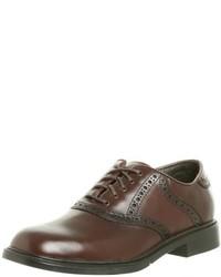 Zapatos oxford de cuero marrónes de Nunn Bush