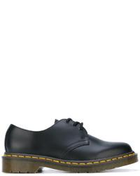 Zapatos oxford de cuero negros de Comme des Garcons