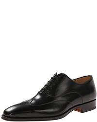 Zapatos Oxford de Cuero Negros de Magnanni