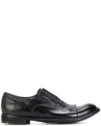 Zapatos Oxford de Cuero Negros de Officine Creative