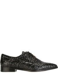 Zapatos Oxford de Cuero Negros de RED Valentino