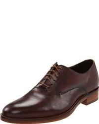 Zapatos oxford de cuero