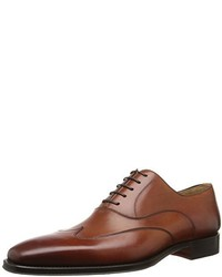 Zapatos Oxford de Cuero Tabaco de Magnanni