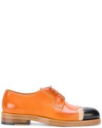 Zapatos Oxford de Cuero Tabaco de Maison Margiela
