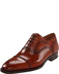 Zapatos oxford marrónes de Magnanni