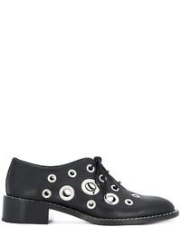 Zapatos oxford negros de Proenza Schouler