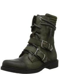 Zapatos verde oliva